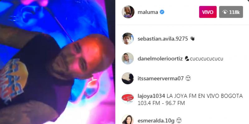 En Exclusiva Maluma le desea lo mejor a su Ex y a Neymar Jr